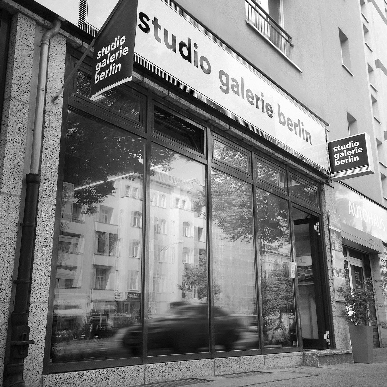 Fotografie der studio galerie berlin